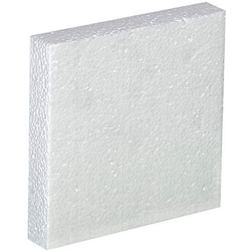 Plastic Jug Foam Insert, 1-1 Gallon, White, 48/Case