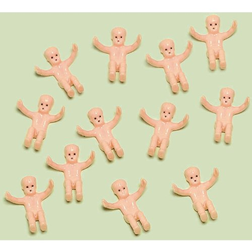 Amscan Delightful Tiny Baby Shower Party Charm Decoration Favour, 1