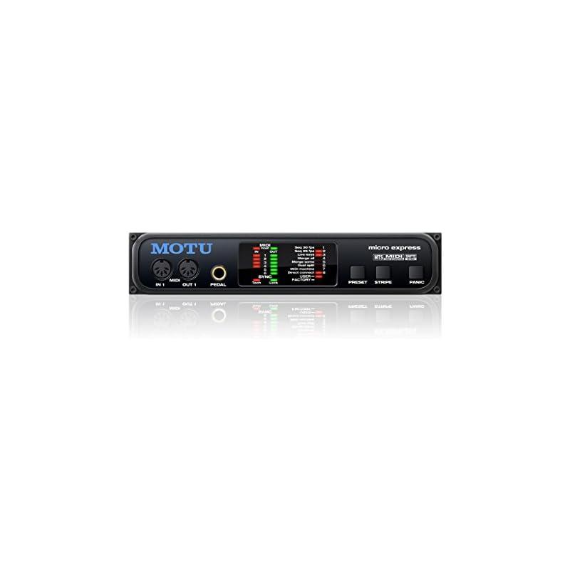 Motu Micro Express 4x6 USB MIDI Interfac