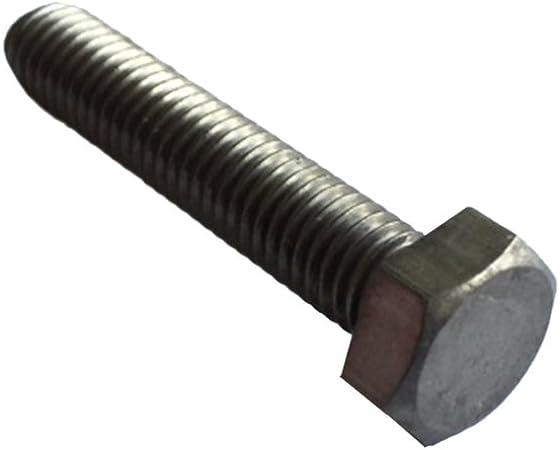 M6x10 Set de 10 Piezas Cr1 Cabeza de Titanio Hexagonal Tornillo Roscado