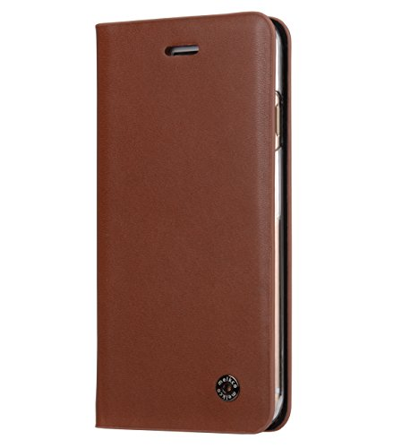 Melkco Fashion Cocktail Series slim Flip Case for Apple iPhone 7(4.7') (Italian Orange Brown)_LF2231