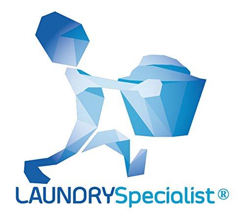 Ideal para secar Calcetines y Otras Prendas peque/ñas y delicadas LaundrySpecialist/® TENDEDERO con Pinzas con 16 Pinzas de Agarre Suave Dimensiones aproximadas de 34x26 cm