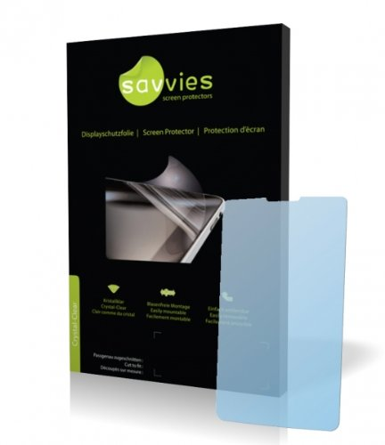 Savvies Crystalclear Screen Protector for LG KP500,KP 500, Protective Film, 100% fits, Display Protection Film