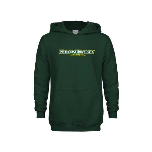 Methodist Youth Dark Green Fleece Hoodie Lacrosse