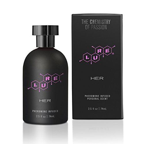 Topco Lure Black Label for Her Pheromone Infused Personal Scent, 2.5 Fluid Ounce
