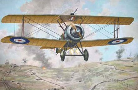 Roden 1/72 British Sopa T.F.1 Camel trench attack aircraft WW-1 072t052 plastic model