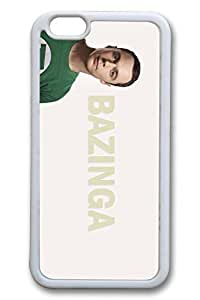 iPhone 5c Case, 5c Case - Lightweight Protective Snap-on White Case Bumper for iPhone 5c The Big Bang Sheldon Cooper Thin Fit Soft Rubber Case for iPhone 5c