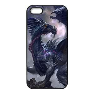 Ancient Dragon iPhone 5 5s Cell Phone Case Black Protect your phone BVS_614386