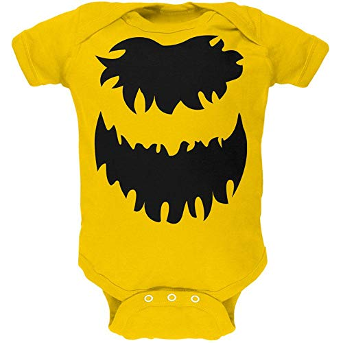 Old Glory Halloween Bumble Bee Costume Cute Soft Baby One Piece Yellow 0-3 M -
