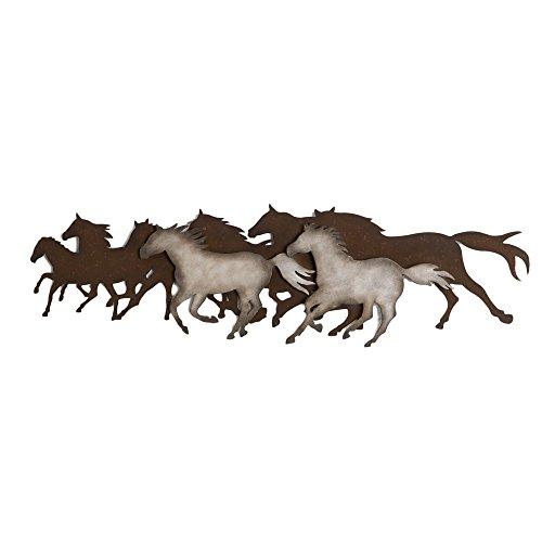 Horse Metal Art - Midwest-CBK Galloping Horses Wall Décor