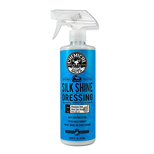 Chemical Guys TVD_109_16 - Silk Shine Sprayable Dry-To-The-Touch Dressing For Tires, Trim, Vinyl, Plastic and More (16 oz)