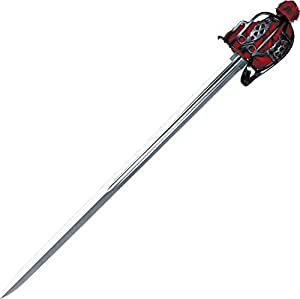 Cold Steel Scottish Broad Sword with Leather/Wood Scabbard