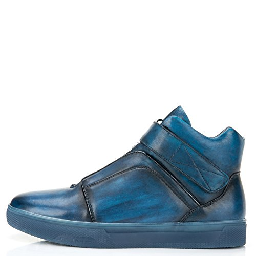 Hoppe Newyork Menns Scully Høy Topp Mote Sneaker Navy ...