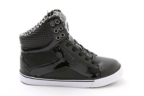 Girls Tart - Pastry Y1 Pop Tart Grid Dance Shoes, Black/White