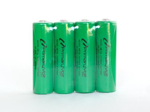 FreedomAlert - Replacement Base Station Batteries (4)
