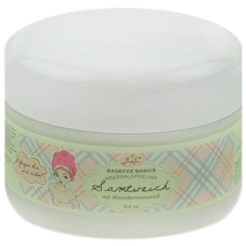 BadeFee Body Care mit Macadamianussöl Meersalz-PeelingSamtweich Zitrus/Jasmin/sandholz/Amber BB035