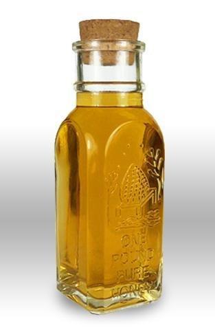 16oz Muth Jar w Cork (case of 12) Replica of Vintage Honey Glass Jars