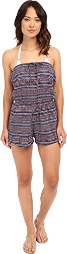 UPC 889623516002, Volcom Women's Liberty Cover-Up Romper, Rad Red, Medium