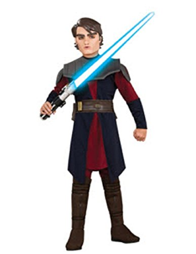 (Rubies Star Wars Clone Wars Child's Deluxe Anakin Skywalker Costume and Mask,)