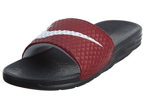 b559aaea New Nike Men's Benassi Solarsoft Slide Team Red/White/Black 8 ...