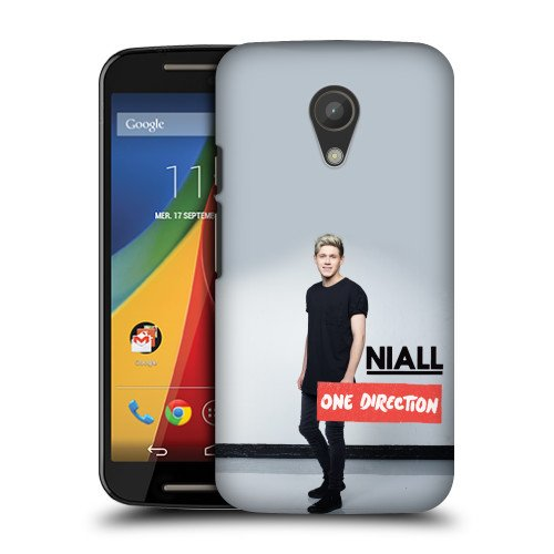 Official One Direction 1D Black Niall Horan Photo Hard Back Case Cover for Motorola Moto G 2nd Gen Dual SIM 2nd Gen (Moto G One Direction Cases compare prices)
