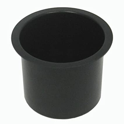 Trademark Poker Jumbo Aluminum Poker Table Cup Holder (Black)