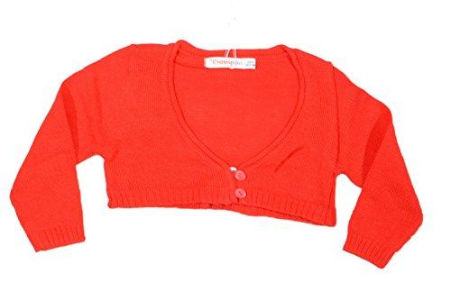 Babybol Bolero in Weiss oder Rot (24 Monate/92, Rot)