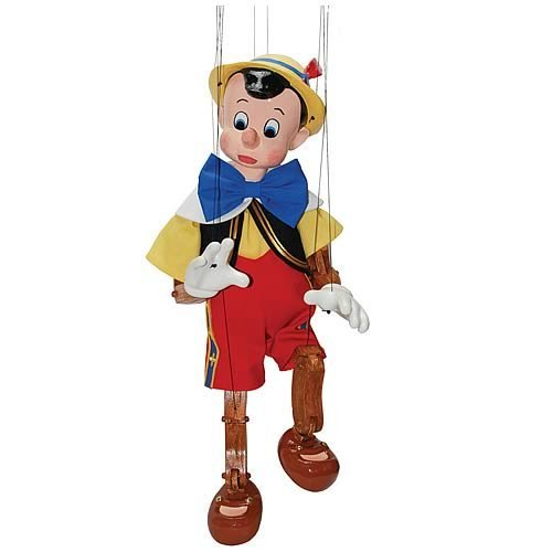 Walt Disney Pinocchio Marionette Hand-Painted Limited Edition Puppet (Out of Production)