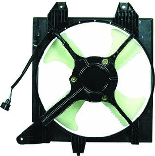 QP M5352-a Mitsubishi Lancer Replacement AC A/C Condenser Cooling Fan/Shroud Assembly A/c Cooling Fan Shroud