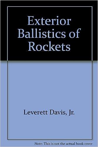 EXTERIOR BALLISTICS OF ROCKETS EBOOK DOWNLOAD