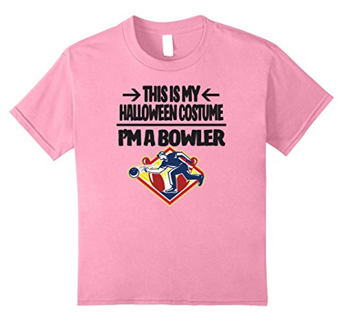 Bowler Halloween Costume Tshirt - Men Women Youth Sizes