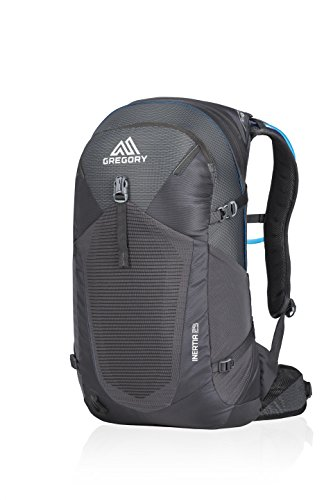 Gregory Mountain Products Men s Inertia 25 Liter Backpack, Shadow Black,  One Size 7f4be74115