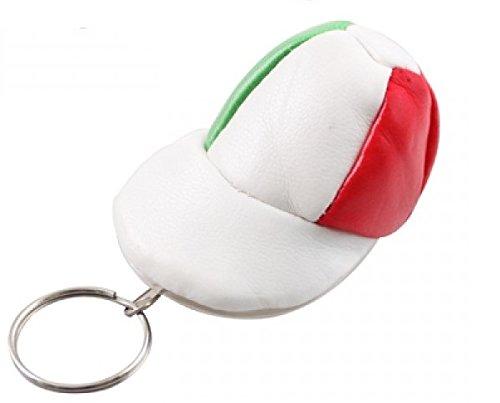 Llavero y monedero con forma de Gorra Tricolor bandera ...