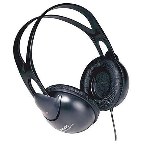 Philips SHP1900/97 Over Ear Stereo Headphone  Black  Over Ear