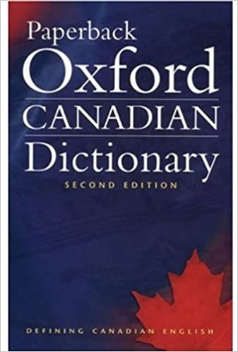 Amazon paperback oxford canadian dictionary 9780195424393 paperback oxford canadian dictionary 2nd edition fandeluxe