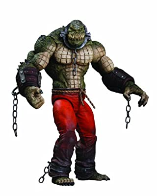 Dc Direct Batman Arkham City Killer Croc Deluxe Action Figure from DC Direct