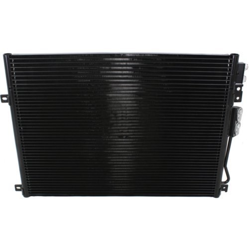 Jeep Grand Cherokee Air Conditioning - Kool Vue KVAC3247 A/A/C Condenser (2005-10 Jeep Grand Cherokee 6Cyl/8Cyl w/Oil Cooler)