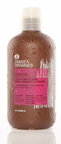 Gel Douche Pangea Organics, italien Sauge Blanche Avec Géranium et Yarrow, 8,5 onces bouteille