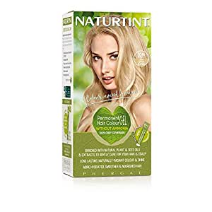 Naturtint Permanent Hair Color 10N Light Dawn Blonde (Pack of 1), Ammonia Free, Vegan, Cruelty Free, up to 100% Gray Coverage, Long Lasting Results