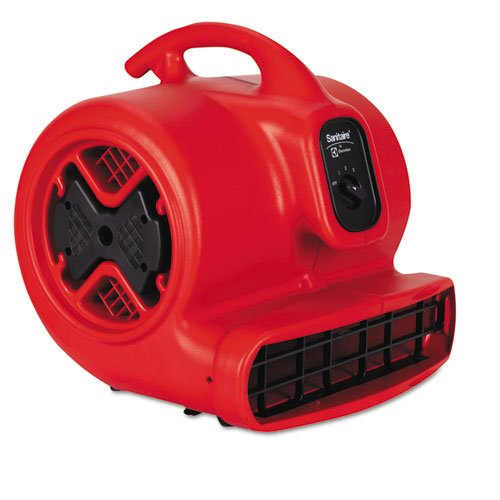 - Electrolux Sanitaire SC6053 Commercial Three-Speed Air Mover 1/2 hp Motor 20 lbs Red/Black