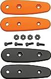Ka-Bar Becker Scales Handles, Black/Orange