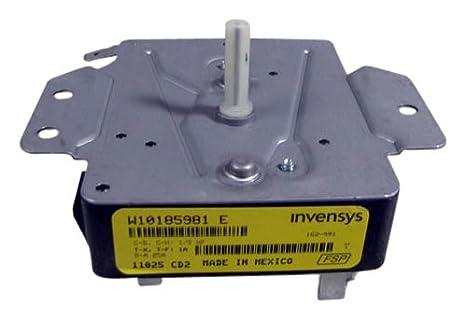 Amazon.com: Whirlpool w10185981 temporizador para secador ...
