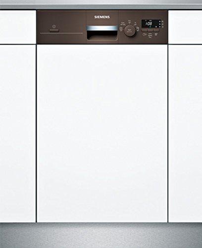 Siemens iQ100 SR515M03CE lavavajilla Semi-incorporado 9 ...