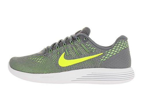 Nike Herren Lunarglide 8 Laufschuhe Cool Grey/Pure Platinum/Volt