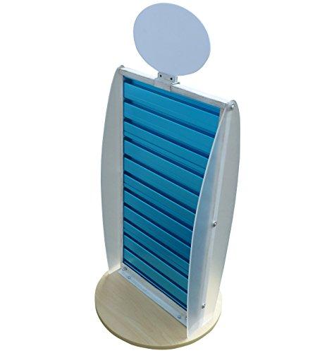 (FixtureDisplays Slatwall Display Countertop Spinner Rack POP POS Retail Stand 11561)