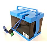Replacement 12V Battery for Peg Perego Case IH Magnum Tractor Ride-on-Toy (12V 12 Amp Kit)
