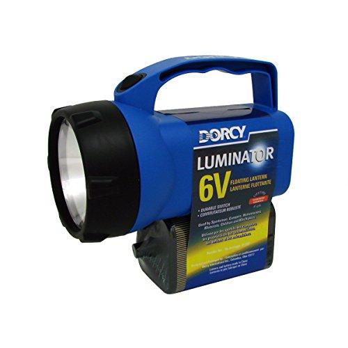 (Dorcy 40-Lumen Waterproof Floating Camping Lantern, Assorted Colors (41-2087))