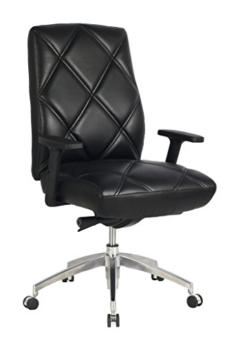 viva-office-diamond-pattern-high-back-bonded-leather-office-executive-chair-adjustable-armrest-black