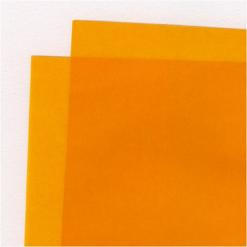 Translucent Colored Vellum- Orange 19x25 Inch Sheet (Orange Vellum)