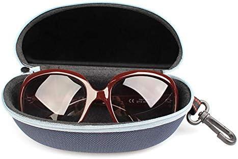 Jack Skellington Sally Eyeglass Case Glasses Case Ultra Light Neoprene Portable Travel Multifunction Zipper Sunglasses Cases-UH